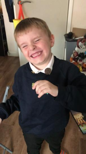 Kid tries rhubarb for the first time and doesn't like it collection item