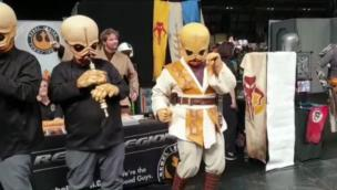 Star Wars Biths play the 'Cantina' scene song at Birmingham Comic Con collection item