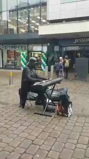 -Darth Vader playing piano- collection item